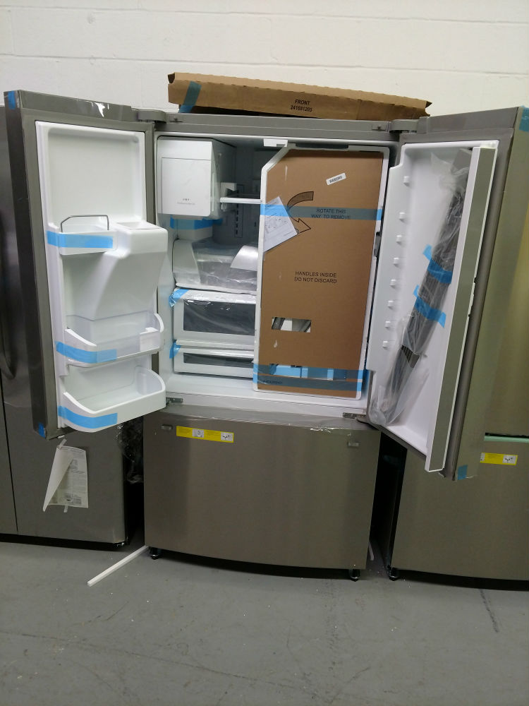 Frigidaire Gallery Model French Door Stainless Steel Refrigerator