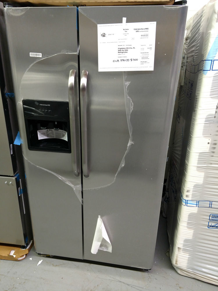 Frigidaire Side By Side Stainless Steel Glen Burnie Used