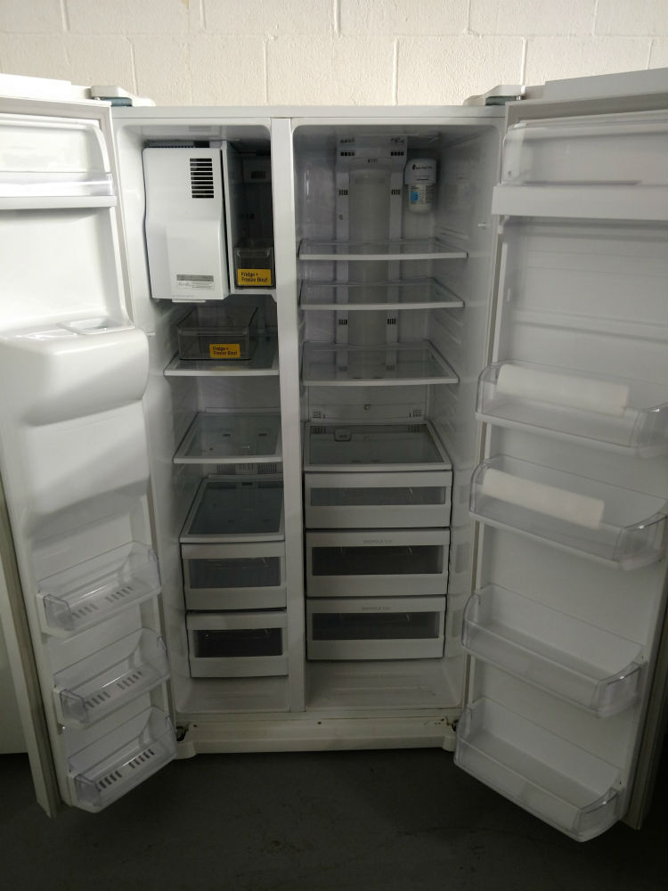 Side by side fridge